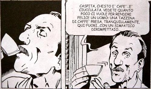 Quanto poco ci vuole per rendere felice un uomo, il caffè raccontato da Edoardo De Filippo