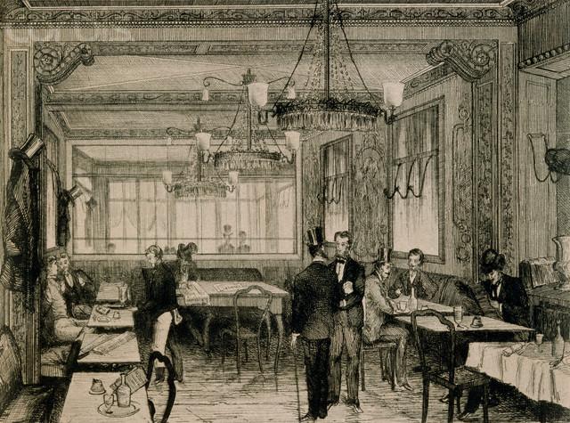 I Caffè francesi e la vivacità culturale del Settecento
