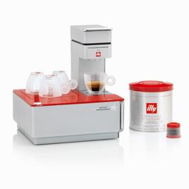 Macchina da caffè a capsule Iperespresso Illy: Y1, il metodo ...